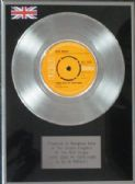 "ELVIS PRESLEY - 7"" Platinum Disc - THERE GOES MY EVERYTHING"